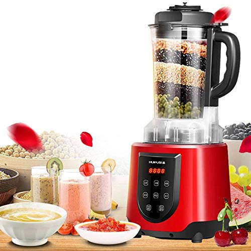 BBG Automatic Intelligent Heating juicer, Home Multi-Functional Nutrition Health Breaking Machine, Soy Milk Agitator,red,One Size by BBG (Image #5)