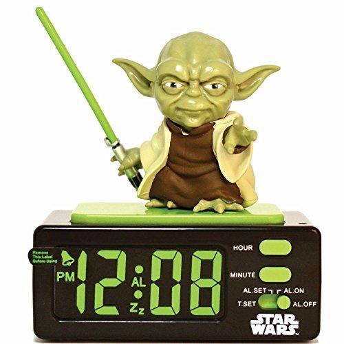 Star Wars 15204 - Yoda Wecker mit Snooze-Taste