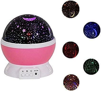 Wowgood@Luz de Estrellas, LED Luz de Proyector de Cosmos Cielo ...