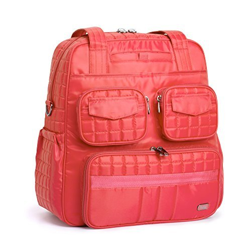 Lug Women's Puddle Jumper Overnight (Version 2.0) Gym Bag Coral Pink One Size [並行輸入品] B07F5DB2FG
