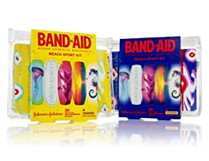 Band-Aid Brand Adhesive Bandages Beach Sport Kit, Cynthia Rowley, 20 Count