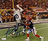 Alvin Harper Autographed Cowboys 8x10 Catch Against Bills Photo- JSA Auth