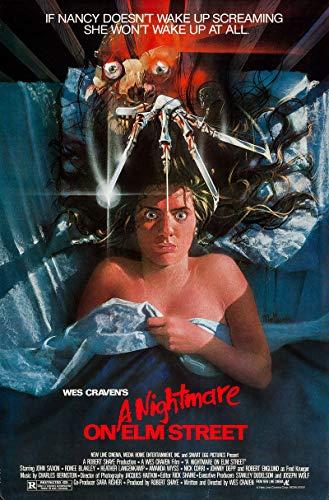 Nightmare on Elm Street Movie Poster, Size