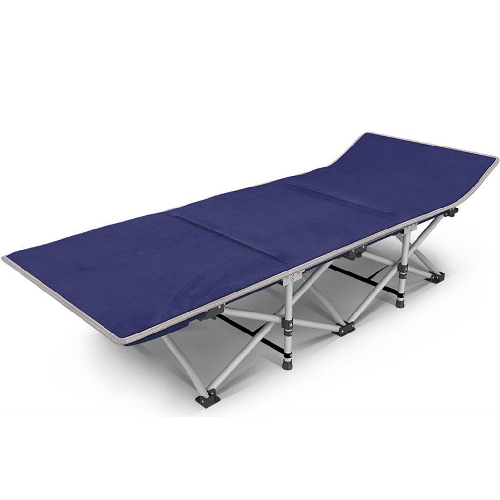 Qz Schwerelos Stuhl Mit Matratze Liegend Outdoor Beach Camping Tragbaren Stuhl Angeln Jagd Sitz, Blau, 200 Kg