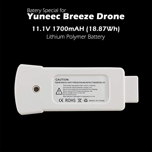 YUNEEC Breeze 4K Lithium Polymer BATTERY NEW IN BOX 100/% Authentic OEM