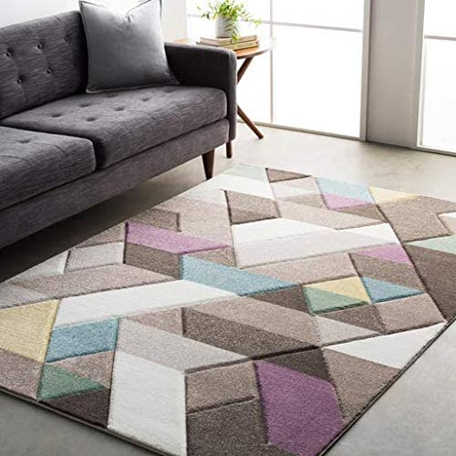 Pattinson Tan Modern Area Rug 7 10 x 10 3