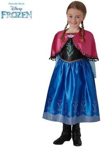 Disney Frozen - Disfraz de princesa Anna para niña, infantil 3-4 ...