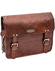 Handmade_world Leather Messenger Bags 15 Inch For Men Women Mens Briefcase Laptop Computer Shoulder Satchel School...
