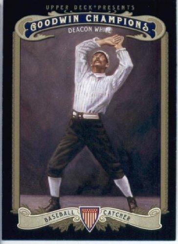 2012 Upper Deck Goodwin Champions Baseball Card #182 Deacon White