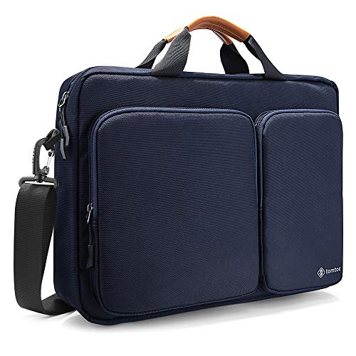 tomtoc Travel Messenger Bag 15.6 Inch with Protective Laptop...