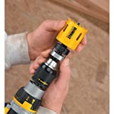 DEWALT Hole Saw Mandrel, Quick Change, 1-1/4-Inch