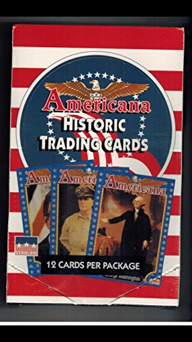 (1) Box of American History (36) Trading Cards Packs Non-sport George Washington Abe Lincoln Astronauts from Collect