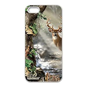 Deer Print Design Hard Case Cover Protector For Iphone 5S