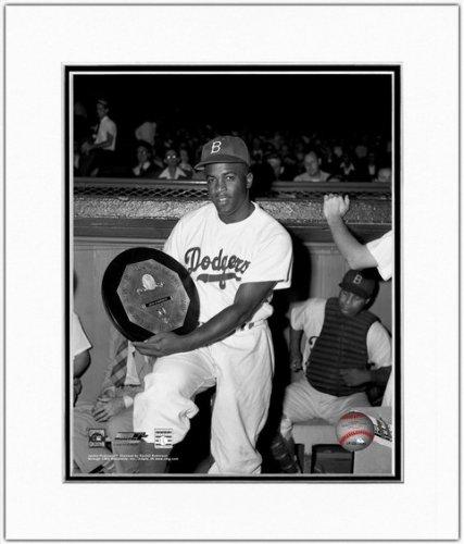 Nl Mvp Mlb Baseball - Jackie Robinson Brooklyn Dodgers 1949 NL MVP Photo 11