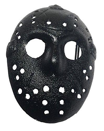 Friday the 13th Jason Mask Black Metal Belt Buckle