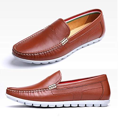 Da LXLA 8 Da 7 Lacci US Con Uomo dimensioni Brown Colore Per Uomo 5 Comode Scarpe Casual Uomo 5 Scarpe Brown UK WW8Eg