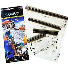 aLokSak Waterproof Touchscreen Bag 4-pack - No BPA
