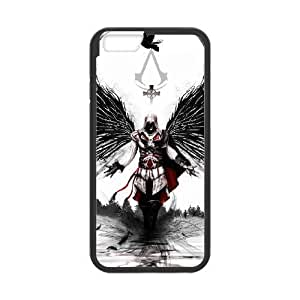 iPhone 6 4.7 Inch phone case Black Assassins Creed ZZX2925645