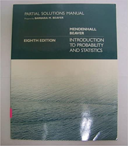 Introduction to probability and statistics mendenhall solutions manual.