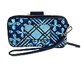 Vera Bradley Rfid Smartphone Wristlet Cotton 1, Cuban Tiles
