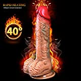 Feel real 9 Inch Thrusting Thrusting Dìdlo with