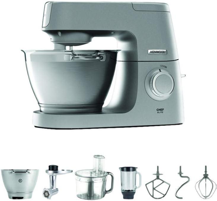 Kenwood Chef Elite Set KVC 5401S , robot de cocina: Amazon.es: Electrónica