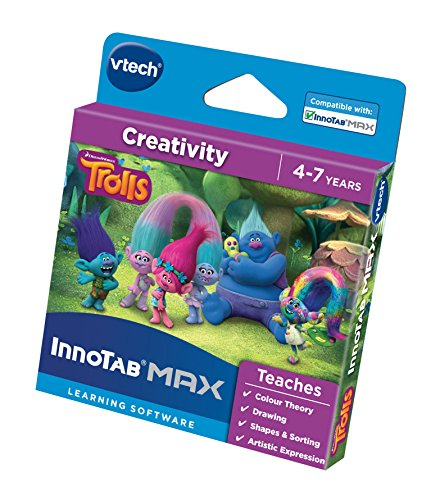VTech 271003 Trolls Activity Set (Innotab 2 Games For 3 Year Old)