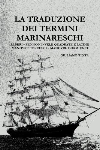 La traduzione dei termini marinareschi (Italian Edition)