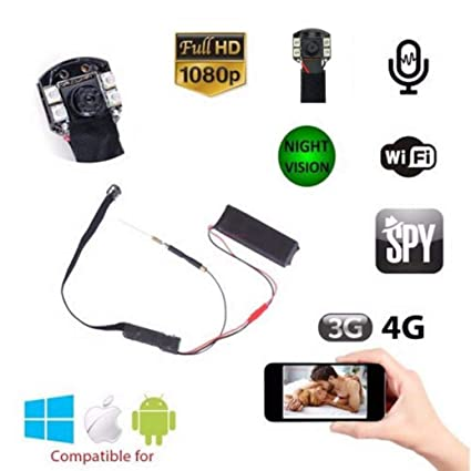 IP Camera Spy CAM Mini espía 1080p Full HD inalámbrico WiFi Micro Camera Videovigilancia LED Infrarrojos