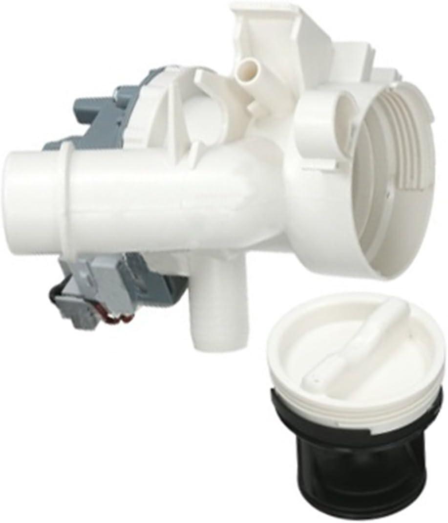 SPARES2GO - Bomba de drenaje completa + caja de filtro para lavadora Otsein