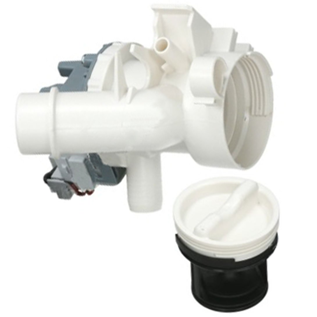 Filter Housing Unit for Candy Washing Machine Fitment List N SPARES2GO Complete Drain Pump
