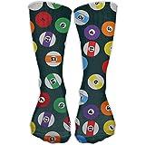 QR FUNK Womens/mens Unisex Billiard Ball Sports/casual Socks