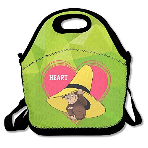 Curious George Lunch Bag Adjustable Strap