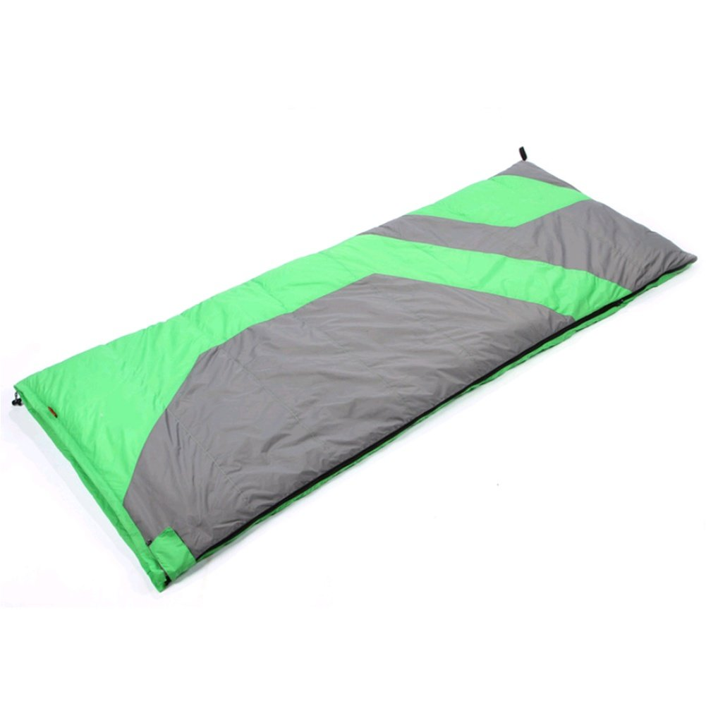 SHUIDAI Tipo de Adulto sobre exterior tipo Light Down Sleeping Bag Adulto de -25 Grados Fall Invierno Camping Double Sleeping Bag , Verde 955e4a