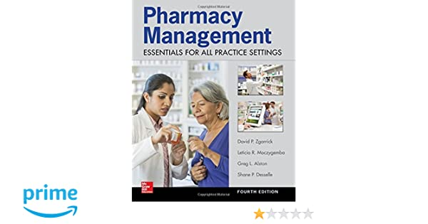 1bcca11c0 Pharmacy Management  Essentials for All Practice Settings