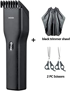 3D Electric Shaver Enchen BlackStone-3 Razor Facial Trimmer Washable shaver Machine For Men Trimmer Professional Hair Cutting Scissors Set,Hairdressing Hair Cutting