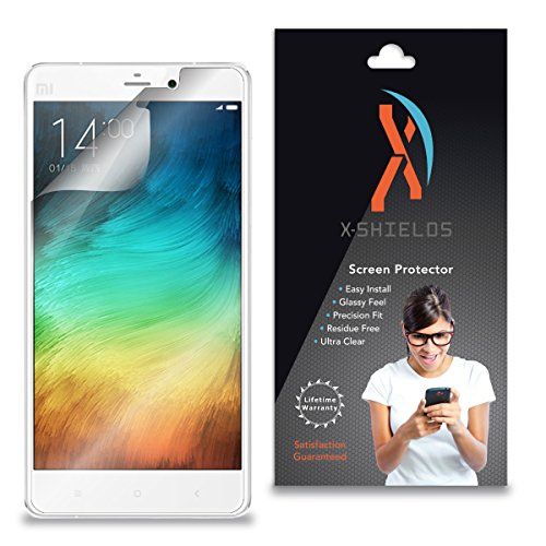 XShields (3-Pack) Screen Protectors for Xiaomi Mi-Note (Ultra Clear)