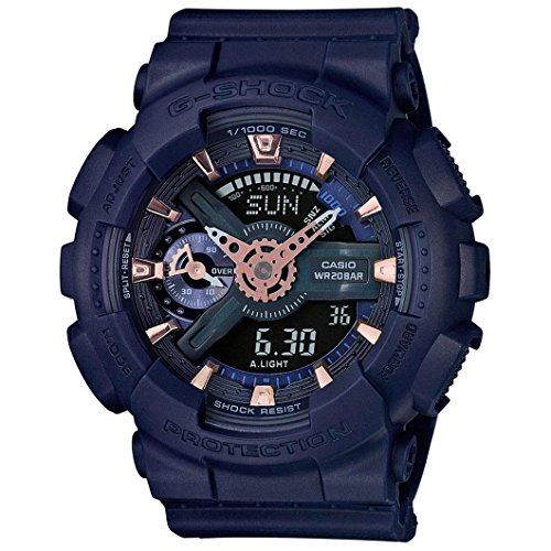 Casio G Shock Resin Quartz GMAS110CM 2A