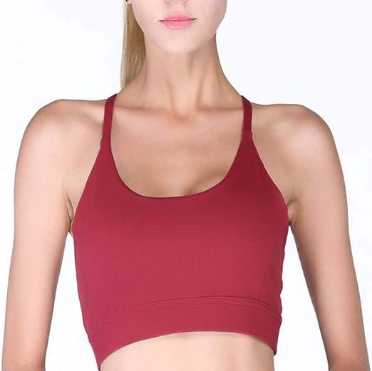 Sujetadores deportivos para Mujer Sujetador Sexy para la Belleza ...