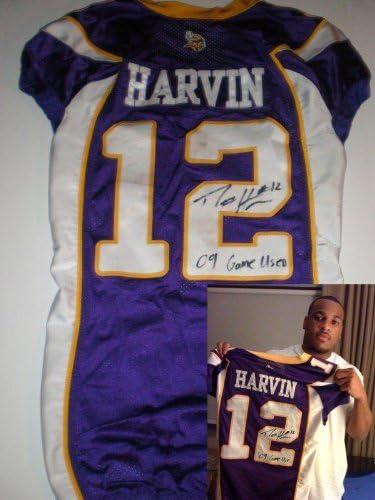 Percy Harvin Game Used Jersey Minnesota Vikings Rookie - NFL ...