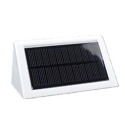 LIM Focos Solares Exterior, 20LED Luces Solares Led Sensor Movimiento De Súper Brillantes con Gran
