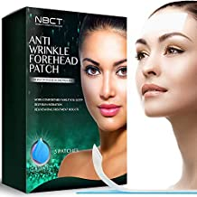 Forehead Anti-Wrinkle Patch, Overnight Smoothing, Lifting & Hydrating Silicone Patches, Antiaging and Antiwrinkle Beauty Mask - 5 strips