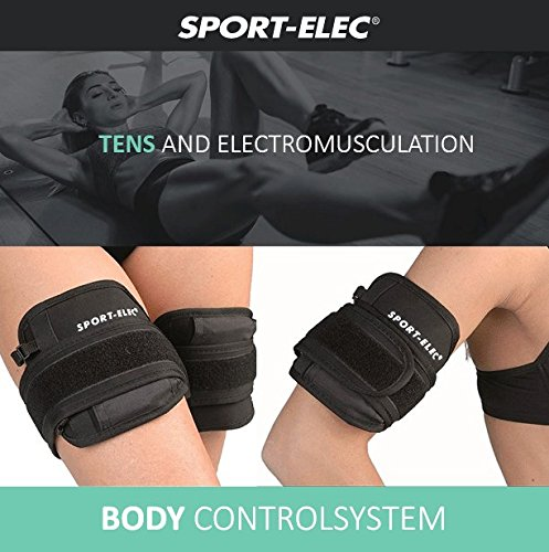 Abs and Body Workout Fitness Belt - FDA Cleared to Tone and Firm Abdominal Muscles - Electric Stimulation Muscle, Waist Trimmer - UNISEX (Electro Gel Included) by CC Venture (Image #4)'