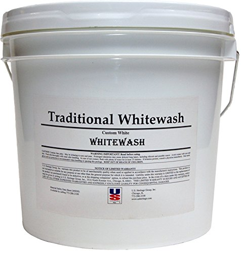 US Heritage Old World European Limewash - Concentrate - Yields 5 Gallons - (White)