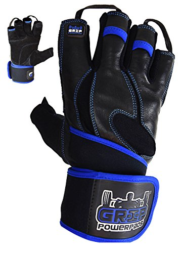 Gloves Ranger Leather - Gym Gloves - Ranger with Built in 2