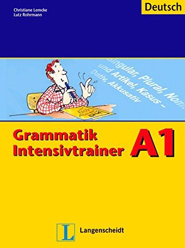 Grammatik Intensivtrainer A1 Deutsch - Langenscheidt