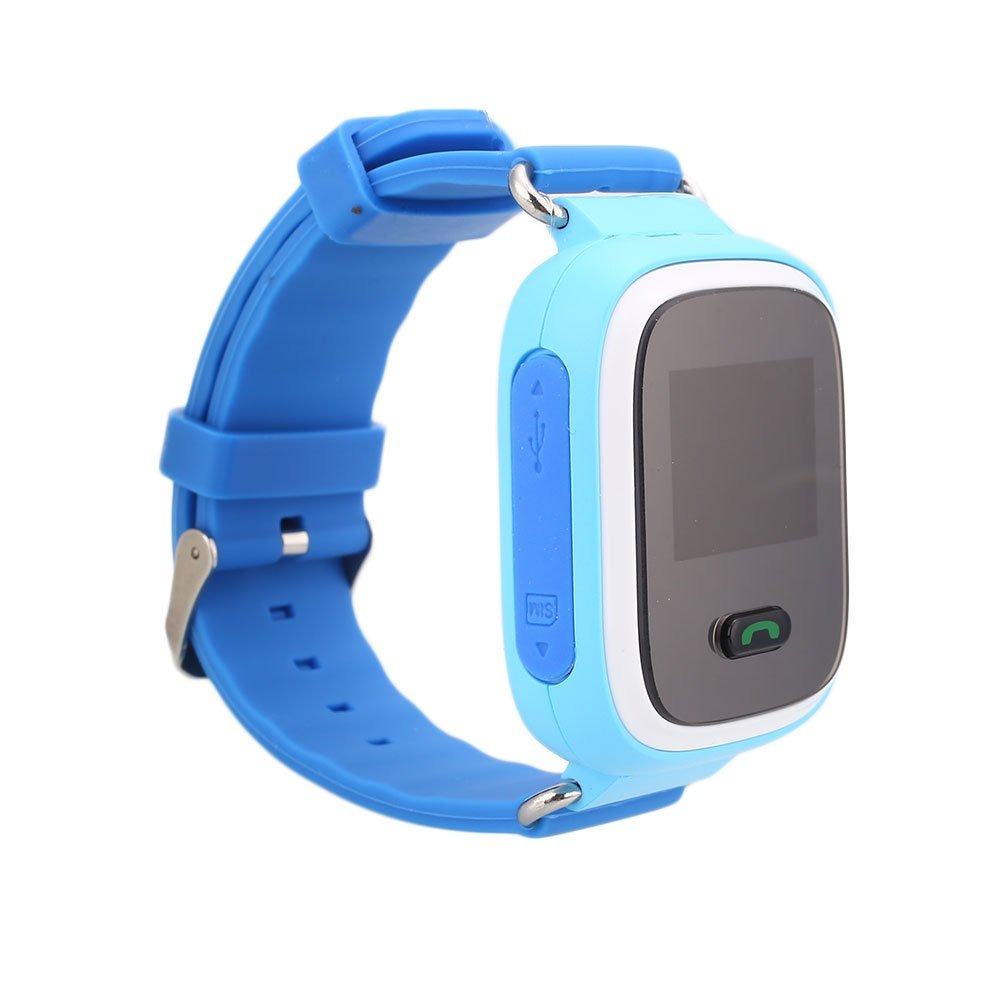 Amazon.com: Auntwhale Children GPS Tracker Smartwatch Smart Watch for Kids Anti-Lost Sos Sim Card Watch Parent Control by Smartphone Q60 Smart Watch ...