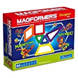 MAGFORMERS MAGNETIC MAGNET CONSTRUCTION Magformer 62 Pieces - Designer