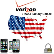 Factory Unlock Verizon Iphone - 4s/5/5c/5s/6/6+ (No USA Usage for 4s)
