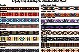 """Legacystraps 1"""" Mandolin Strap Ukulele Strap"""
